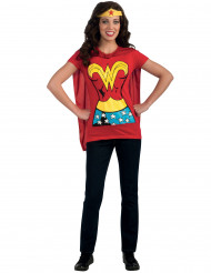 Déguisement Wonder Woman™ adulte Tee-Shirt