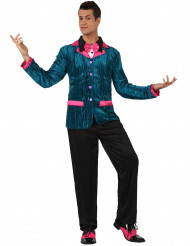 Déguisement style années 60 bleu et rose homme