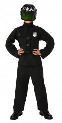 Déguisement policier S.W.A.T. garçon avec casque