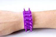 Bracelet piques violet