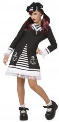 Déguisement lolita marin gothique femme