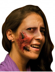 Fausse blessure visage adulte Halloween