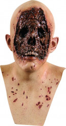 Masque peau brulée adulte Halloween