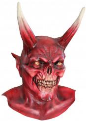 Masque démon rouge adulte Halloween