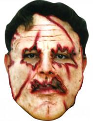 Masque tueur visage découpé adulte Halloween