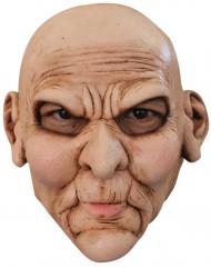 Masque visage vieux mécontent adulte