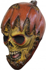 Masque citrouille monstrueuse adulte Halloween
