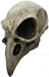 Masque squelette oiseau adulte Halloween