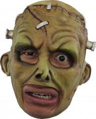 Masque 3/4 créature Frankenstein verte adulte Halloween