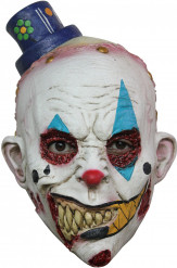 Masque clown effrayant halloween adulte