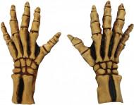 Gants squelette adulte Halloween