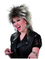 Perruque punk adulte femme