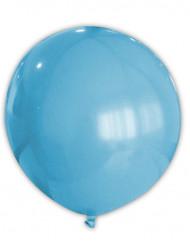 Ballon turquoise 80 cm