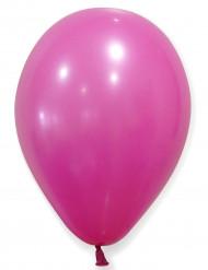 100 Ballons fuchsias 27 cm