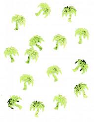 Confettis de table forme palmier menthe 10 gr