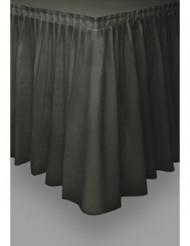 Jupe de table noire en plastique