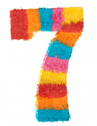 Piñata du chiffre 7 55 x 25 cm