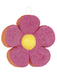 Piñata Fleur rose et orange