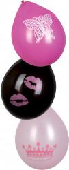 6 Ballons princess