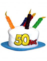 Chapeau Age 50 adulte