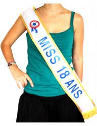 Echarpe Miss 18 ans