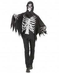 Déguisement faucheur squelette adulte