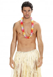 Collier fleurs assorties Hawaï