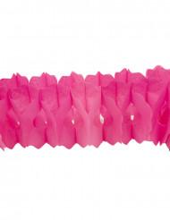 Guirlande papier fuchsia 15cm x 4m