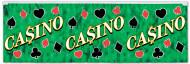 Bannière verte Casino