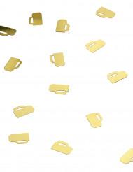 Confettis chopes à bière