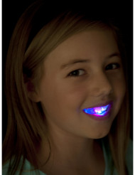 Dentier lumineux avec LED