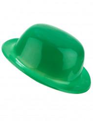 Chapeau melon vert adulte