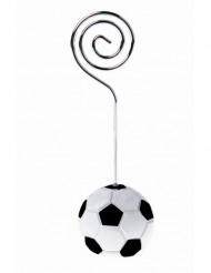 4 Marque-places ballon football 3 x 9 cm