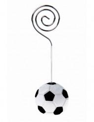 4 Marque-places ballon football 3 x 9 cm