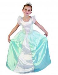 Déguisement princesse bleue fille