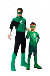 Déguisement couple Green Lantern père et fils