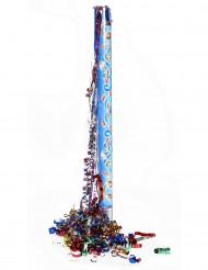 Canon à confettis et serpentins 80 cm