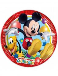 8 Assiettes en carton Mickey Mouse™ 23 cm