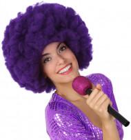 Micro de chanteur violet