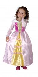 Déguisement princesse avec médaillon fille
