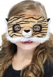 Masque peluche tigre enfant