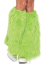 Jambières à poils vertes Luxe