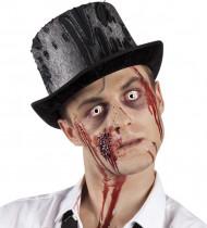 Chapeau haut de forme zombie adulte