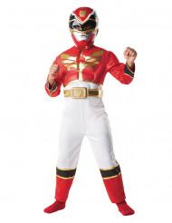 Déguisement Power Rangers™ 3D rouge garçon