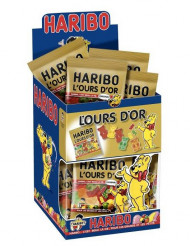 Mini sachet  bonbons Haribo ours d