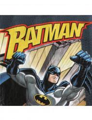 20 Serviettes en papier Batman™ 33 x 33 cm