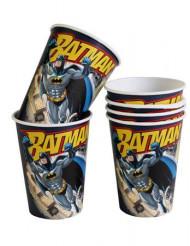 6 Gobelets en carton Batman™ 25 cl