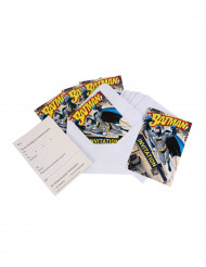 6 Invitations + enveloppes  Batman™