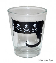 Verre à shooter pirate