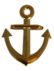 Broche ancre de marin